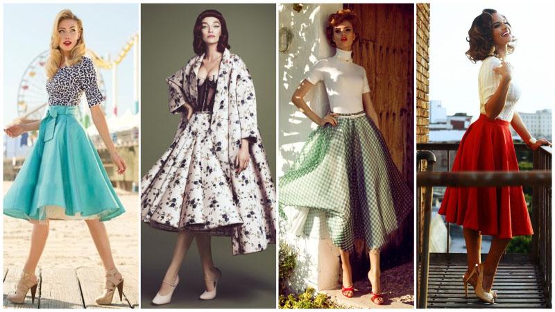 Bí quyết tạo phong cách cổ điển thập niên 50 cho phụ nữ hiện đại - 2