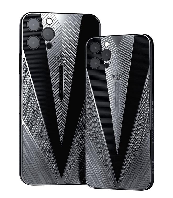 Caviar lại khiến iFan hốt hoảng với iPhone 12 Pro chiến binh cổ đại - 1