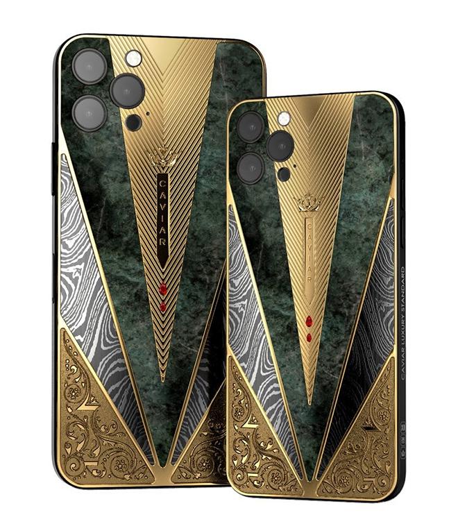 Caviar lại khiến iFan hốt hoảng với iPhone 12 Pro chiến binh cổ đại - 6