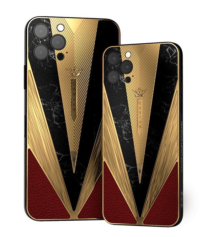 Caviar lại khiến iFan hốt hoảng với iPhone 12 Pro chiến binh cổ đại - 7