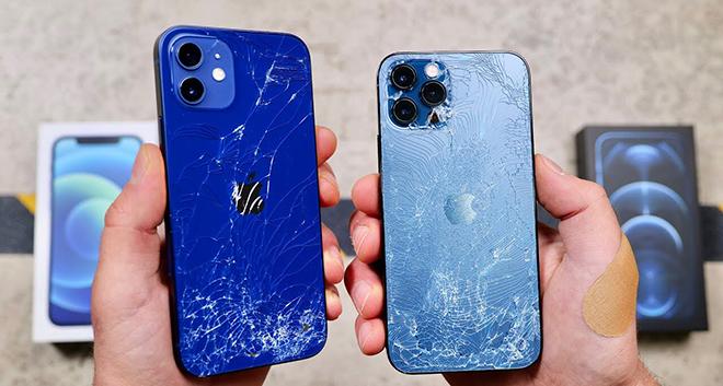 """Thử nghiệm độ bền siêu """"đỉnh"""" trên lớp Ceramic Shield của iPhone 12 - 2"""