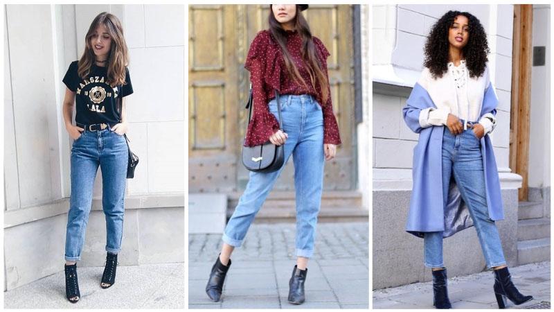 Những kiểu quần jean cạp cao khiến nàng đẹp như siêu mẫu - 1