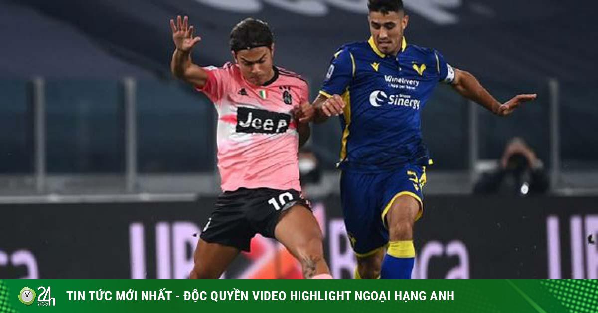 Video highlight trận Juventus – Hellas Verona: Khung gỗ chối từ, ngôi sao bất lực