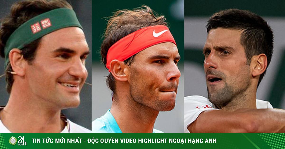 Người nhà xếp Nadal sau Federer, Djokovic chán ngán trò so sánh