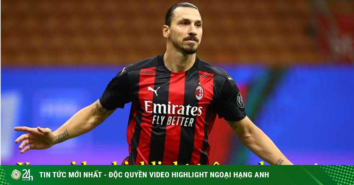 Video highlight trận AC Milan - AS Roma: Cú đúp Ibrahimovic, đỉnh cao rượt đuổi
