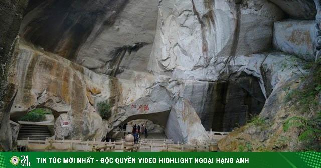 Choáng ngợp với mỏ đá nhân tạo lớn nhất Trung Quốc cách đây hàng nghìn năm
