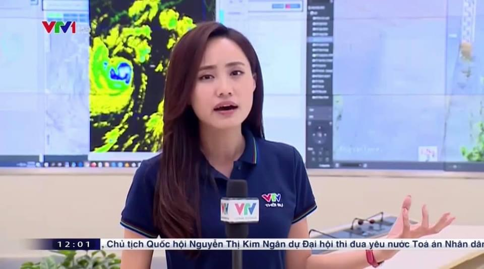 """BTV thời tiết của VTV """"trực chiến"""" bão số 9 với 30 lần lên sóng chỉ trong... 2 ngày - 3"""