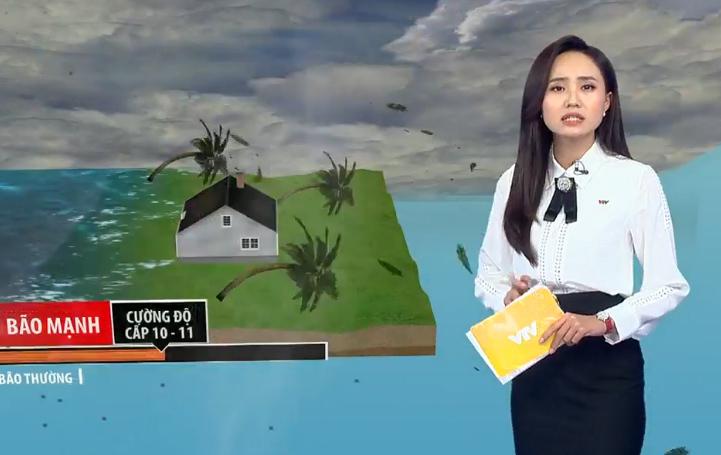 """BTV thời tiết của VTV """"trực chiến"""" bão số 9 với 30 lần lên sóng chỉ trong... 2 ngày - 4"""