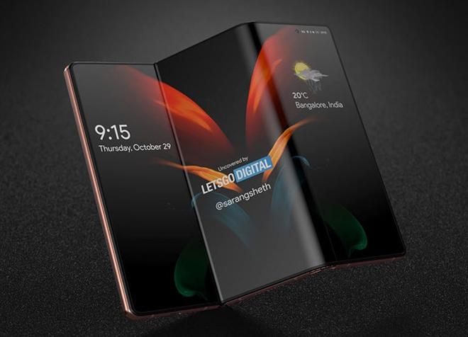 Samsung sắp có chiếc smartphone có kiểu dáng kỳ lạ - 1