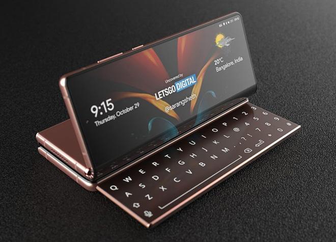 Samsung sắp có chiếc smartphone có kiểu dáng kỳ lạ - 2