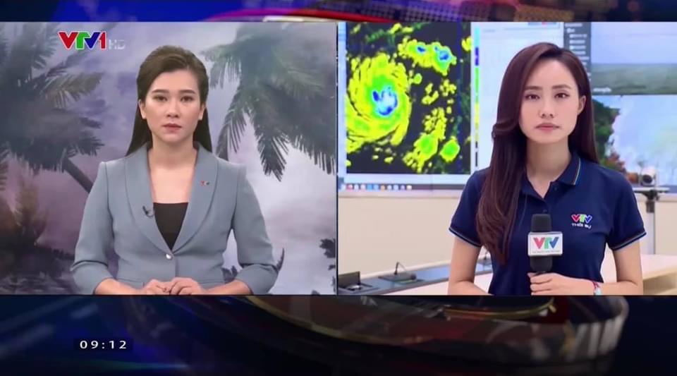 """BTV thời tiết của VTV """"trực chiến"""" bão số 9 với 30 lần lên sóng chỉ trong... 2 ngày - 1"""