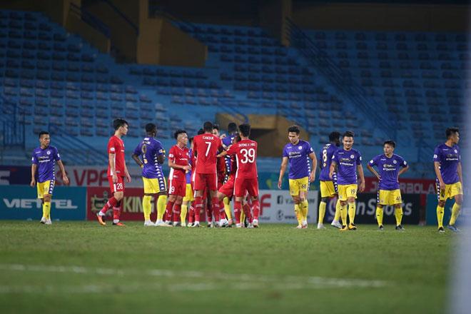 """Hà Nội hòa Viettel """"nghẹt thở"""", HLV Nghiêm dự báo cuộc đua vô địch khó lường - 2"""
