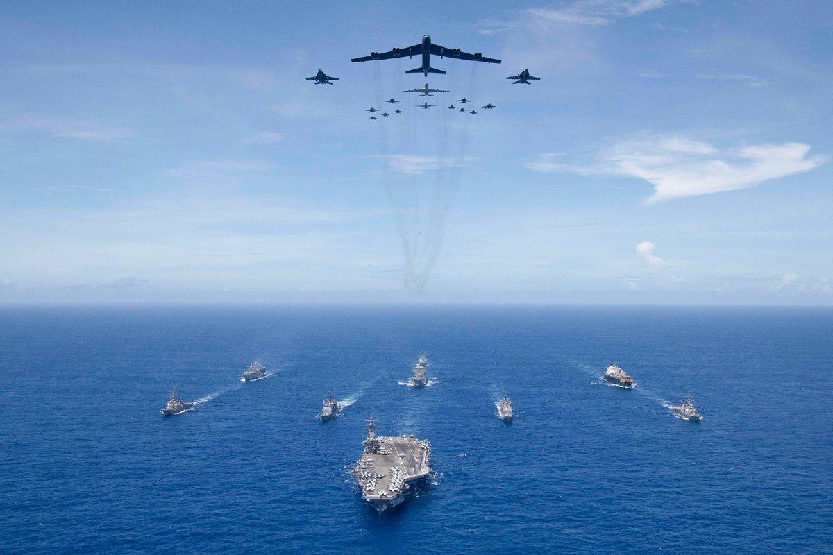 Tin đồn quân đội Mỹ sắp tấn công TQ: Bắc Kinh lên tiếng - 1