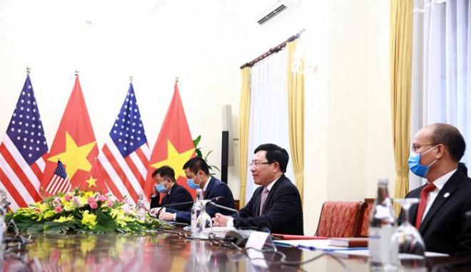 Chùm ảnh: Ông Pompeo gặp gỡ Thủ Tướng và Phó Thủ tướng Việt Nam - 8