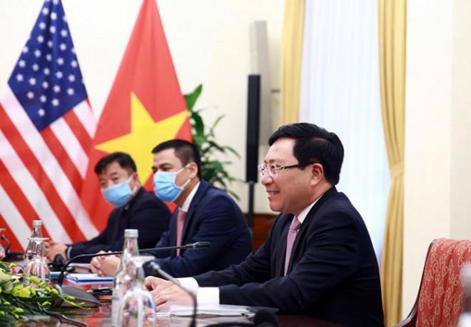 Chùm ảnh: Ông Pompeo gặp gỡ Thủ Tướng và Phó Thủ tướng Việt Nam - 11