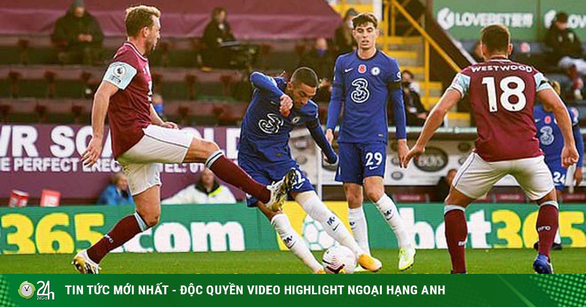 Video highlight trận Burnley - Chelsea: Phối hợp hoàn hảo, bom tấn mở hàng (H1)