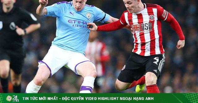 Trực tiếp bóng đá Sheffield United - Man City: Cựu vương tìm lại mạch thắng