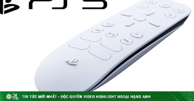 Remote của máy chơi game Sony PS5 tích hợp sẵn nút truy cập Netflix