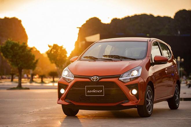 Giá xe Toyota Wigo lăn bánh tháng 11/2020 - 13