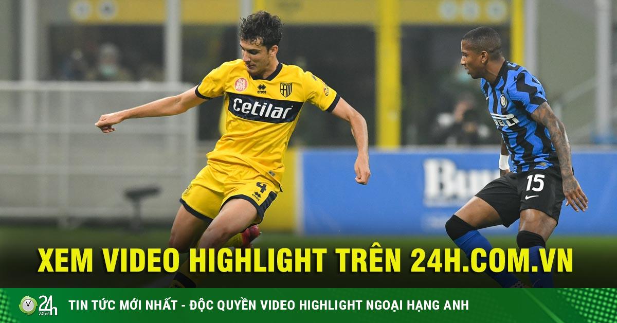 Video highlight trận Inter Milan - Parma: Rượt đuổi 4 bàn, vỡ òa phút 90+2