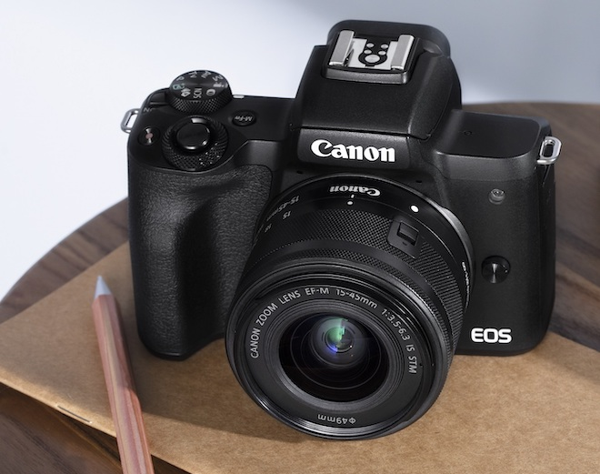 Ra mắt Canon EOS M50 Mark II có thể livestream, quay video TikTok - 1