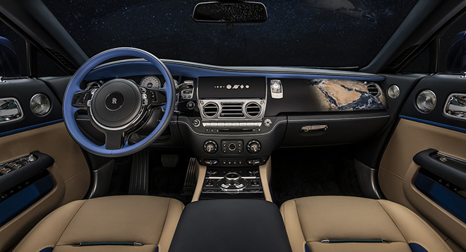Rolls-Royce Wraith lấy cảm hứng từ Trái đất và Vũ trụ lần đầu được xuất hiện - 8