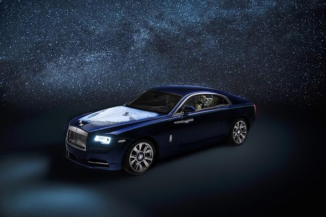 Rolls-Royce Wraith lấy cảm hứng từ Trái đất và Vũ trụ lần đầu được xuất hiện - 1
