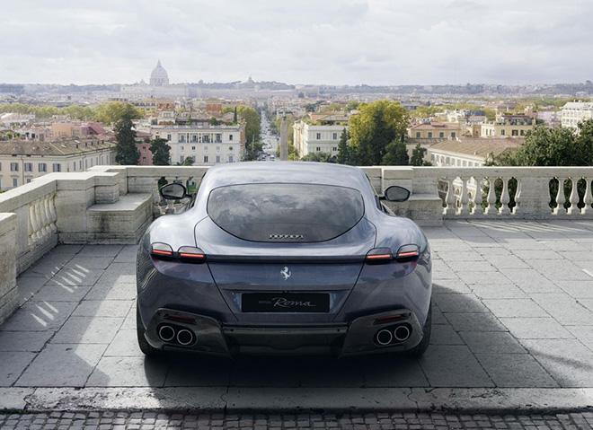 Siêu phẩm Ferrari Roma nhận giải thưởng xe đẹp nhất của năm 2020 - 4