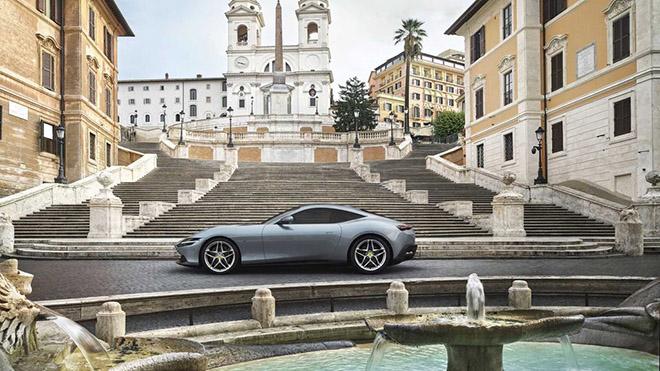 Siêu phẩm Ferrari Roma nhận giải thưởng xe đẹp nhất của năm 2020 - 7