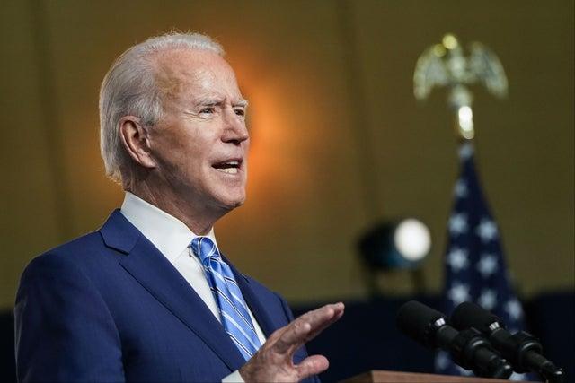 Tỷ lệ cá cược ông Biden thắng bầu cử Mỹ cao ngất