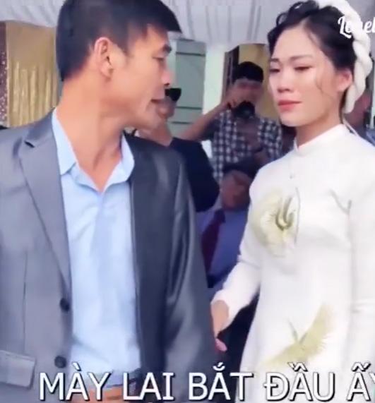 Cô dâu mè nheo đòi bố ở lại sau đám cưới, ông bố nói một câu khiến cả hôn trường bật cười - 2
