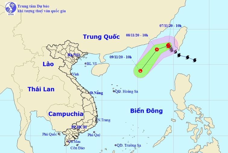 Bão số 11 Atsani bất ngờ thay đổi cường độ và đường đi trên Biển Đông - 1