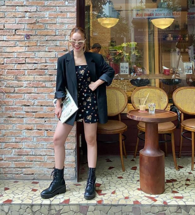 Miu Lê diện váy ngắn sexy, Amee biến hóa áo khoác thành chân váy cực cá tính - 1