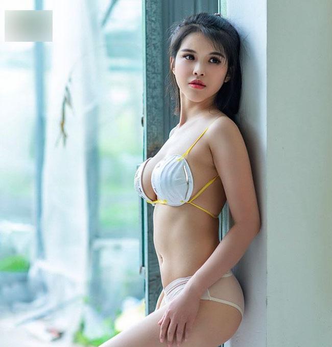 Mỹ nhân châu Á dùng lá chuối làm áo ngực, đẹp ảo diệu mà không phô - 6