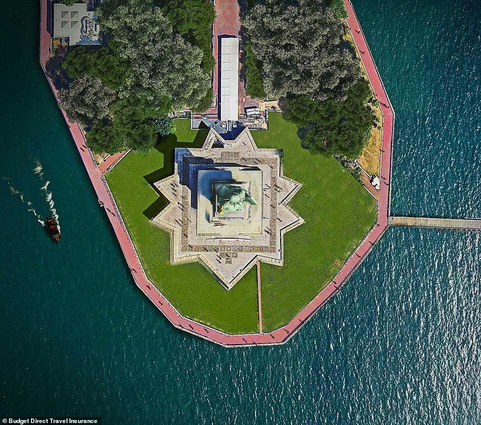 Những tòa nhà ấn tượng nhất thế giới khi chụp từ trên cao - hình ảnh 2