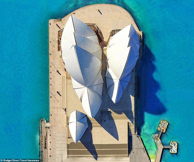 Những tòa nhà ấn tượng nhất thế giới khi chụp từ trên cao - hình ảnh 3