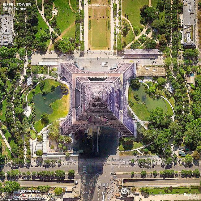 Những tòa nhà ấn tượng nhất thế giới khi chụp từ trên cao - hình ảnh 5