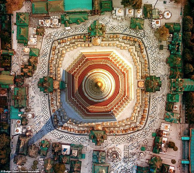 Những tòa nhà ấn tượng nhất thế giới khi chụp từ trên cao - hình ảnh 6