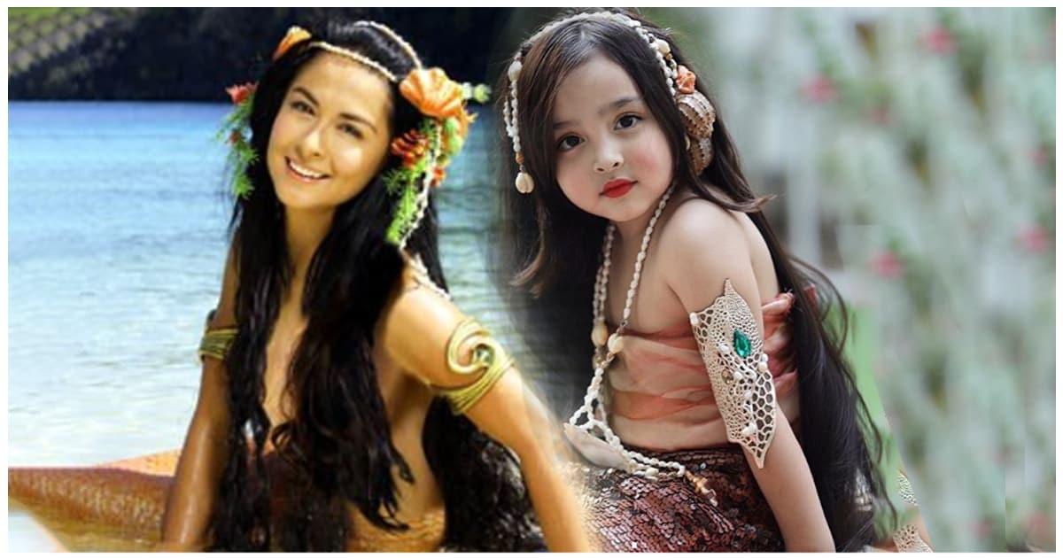 """""""Người phụ nữ đẹp nhất Philippines"""" từ nhỏ đã xinh xắn, con gái giống mẹ là tiểu mỹ nhân - hình ảnh 4"""