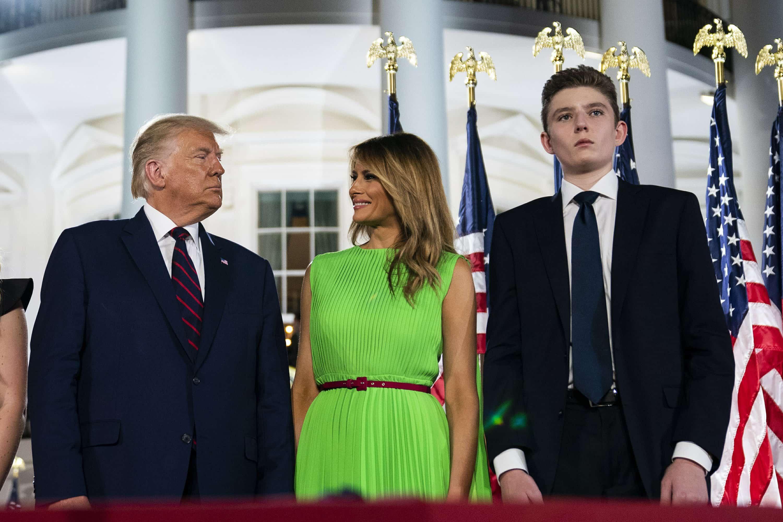 Cháu trai Joe Biden tuổi 14 điển trai, cao 1m8 nhưng dân mạng vẫn mê quý tử của ông Trump - hình ảnh 7