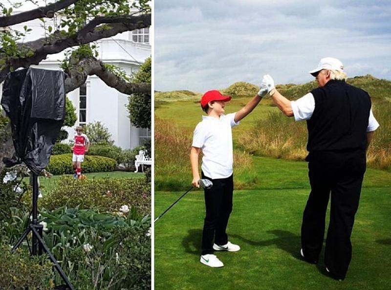 Cháu trai Joe Biden tuổi 14 điển trai, cao 1m8 nhưng dân mạng vẫn mê quý tử của ông Trump - hình ảnh 8