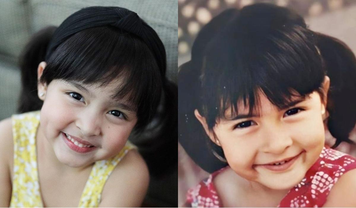 """""""Người phụ nữ đẹp nhất Philippines"""" từ nhỏ đã xinh xắn, con gái giống mẹ là tiểu mỹ nhân - hình ảnh 2"""