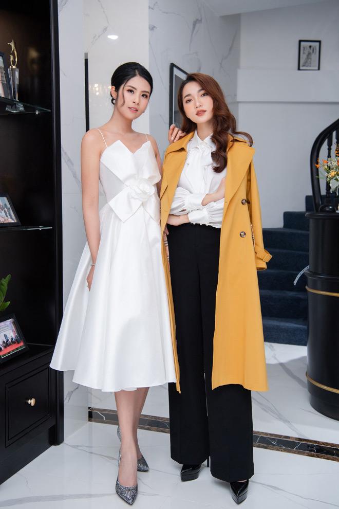 """Hoa hậu """"ngoan nhất showbiz Việt"""" đọ sắc cùng dàn mỹ nhân nổi tiếng - 8"""