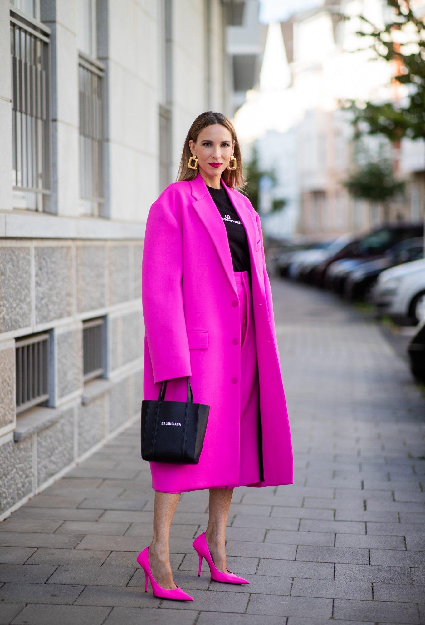 Màu hồng bỗng nhiên trở thành hot trend cho mùa đông năm nay - 4