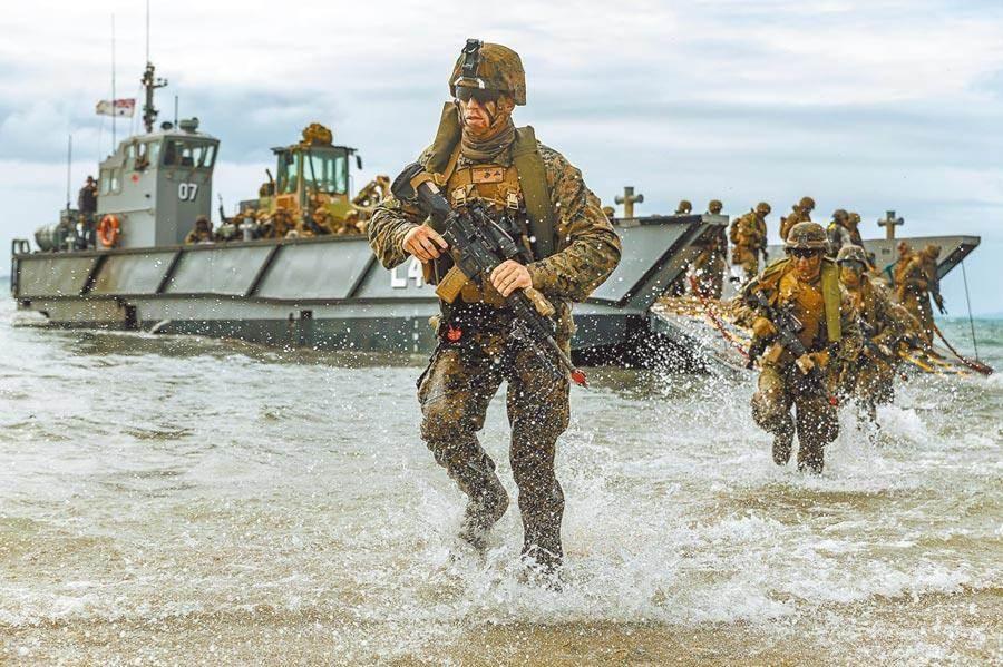 Thủy quân lục chiến Mỹ lần đầu công khai hiện diện ở Đài Loan kể từ năm 1979 - 1