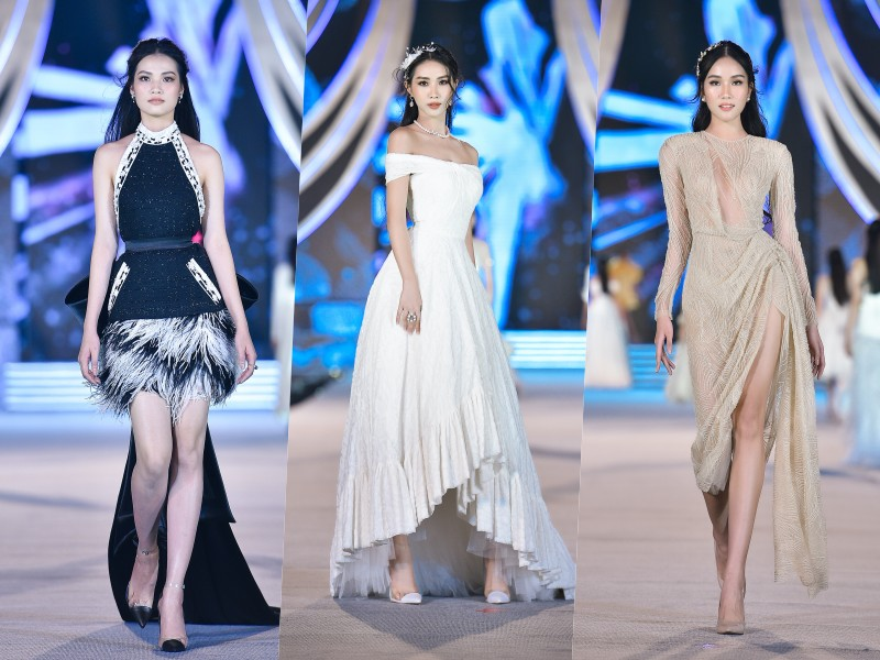 Tiểu Vy, Kỳ Duyên làm vedette trong đêm diễn thời trang của Hoa hậu Việt Nam - hình ảnh 3