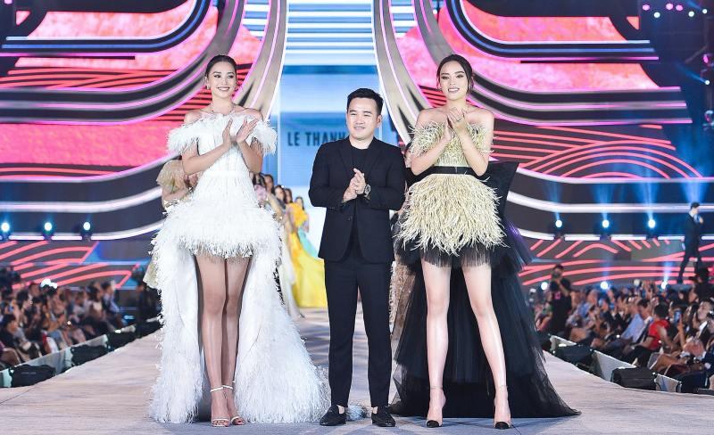 Tiểu Vy, Kỳ Duyên làm vedette trong đêm diễn thời trang của Hoa hậu Việt Nam - hình ảnh 1