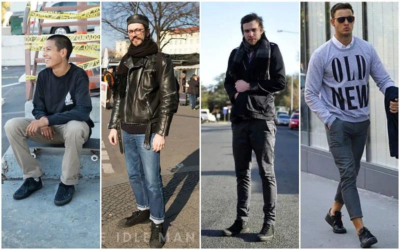 Bí quyết phối giày Converse đen, trắng chuẩn mực cho các chàng sành điệu - hình ảnh 6