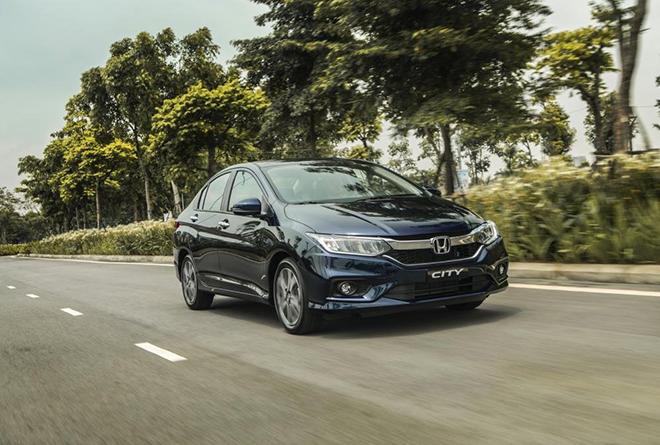 Giá xe Honda City lăn bánh tháng 11/2020
