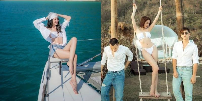 """""""Người yêu Sơn Tùng MTP"""" mặc bikini """"hư hỏng"""" giống Ngọc Trinh, được 1 triệu like - hình ảnh 4"""